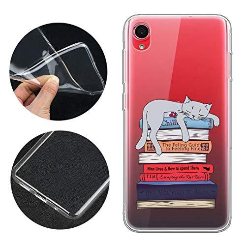 LJSM Hülle für ASUS Zenfone Live L2 ZA550KL Weiche Handyhülle Transparent TPU Silikon Schutzhülle Durchsichtig Klar Tasche Handytasche Cover Schale Hülle für (5.5