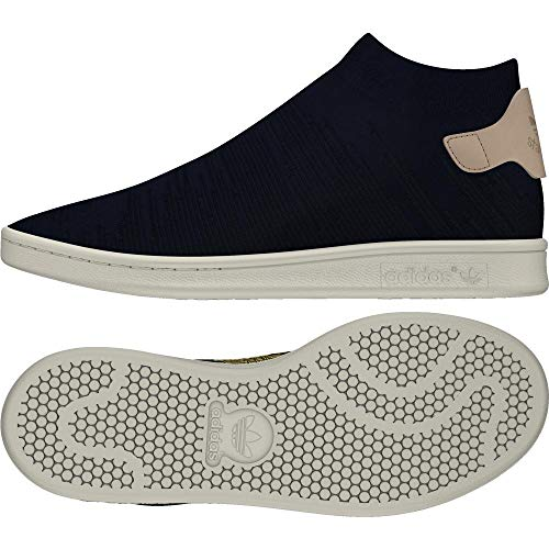 adidas Damen Stan Smith Sock Pk W Fitnessschuhe, Blau (Tinley/Tinley/Percen 000), 40 EU