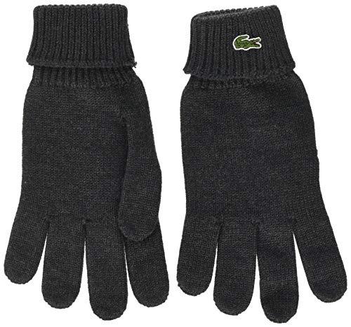 Lacoste Herren Rv4214 Handschuhe, Grau (Moha Chiné 2wa), X-Large