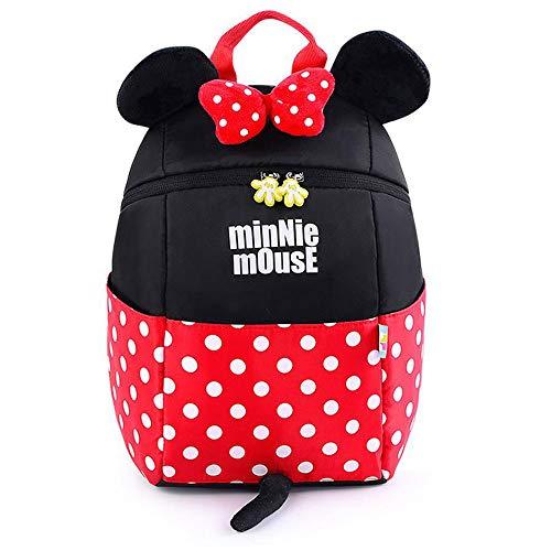 CLOUD New Kindergarten School Bags Children Cartoon Travel Backpacks Rucksack For Boys And Girls (1-5 Years Old) Minnie-Small 21.5 x 12 x 26 cm