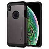 Spigen Tough Armor Designed for Apple iPhone Xs MAX Case (2018) - Gunmetal