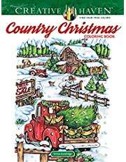 Creative Haven Country Christmas Colorin