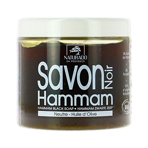 Naturado - Savon noir Hammam 600Ml Bio - Livraison Gratuite pour les commandes en France - Prix Par Unité