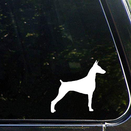 DONL9BAUER Dobermann-Hunde-Liebhaber-Auto-Vinyl-Aufkleber für LKW, Vans, Motorrad, Fenster, Laptop, Computer, Tasse, Tasse, Tasse, Flasche, Bumpe.
