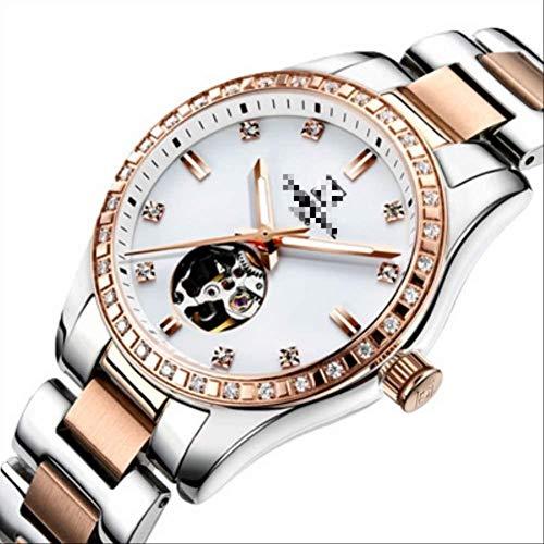 SGHH-Reino Unido Mujeres del Reloj Relojes Marca señoras de Las Mujeres del Reloj mecánico automático de 21 cm a Prueba de Agua