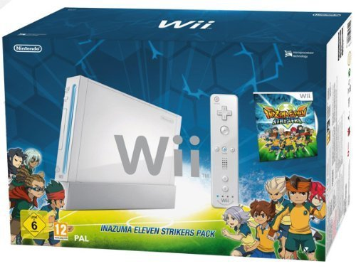 Nintendo Wii - Console Inazuma Eleven Strikers Pack [Bundle]