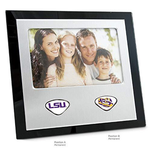 AdSpec NCAA LSU Tigers Collegiate Bilderrahmen, Silberfarben, Einheitsgröße