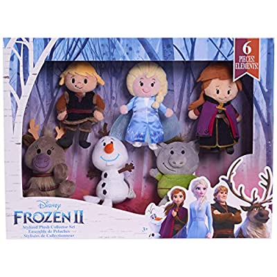 Disney Frozen 2 Stylized Plush Collector Set