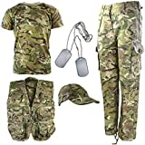 Kombat UK Kinder BTP Camouflage Explorer Armee Set 9-10 Jahre British Terrain Pattern