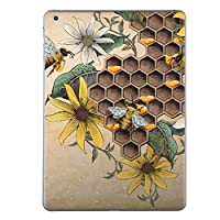 igsticker iPad Air 2013 スキンシール apple アップル アイパッド エア A1474 A1475 A1476 タブレット tablet シール ステッカー ケース 保護シール 背面 015760 花 ひまわり 蜂 昆虫 植物