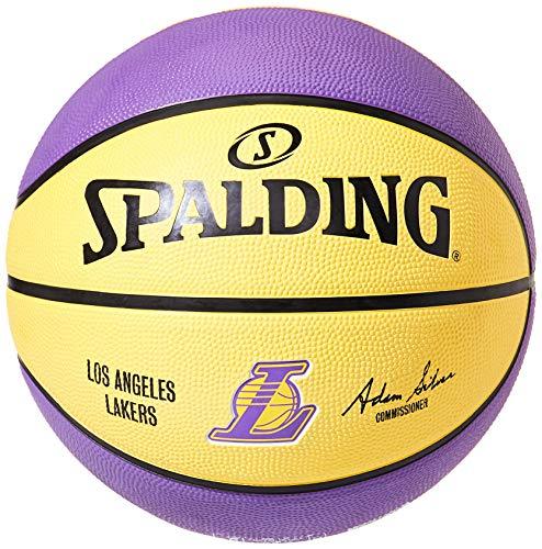 BALL TEAM LAKERS NBA SPALDING