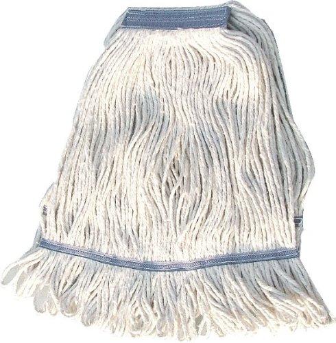Winco Yarn Mop Head, 32-Ounce, 4 Ply Loop End, White