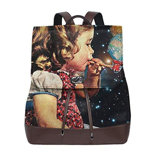 Flowers Nature Raindrops Wet Unique Custom Outdoor Shoulders Bag Fabric Backpack Multipurpose Daypacks For Adult