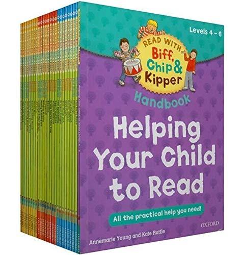 VODVO 1 Set 25 Libros 4-6 Nivel de Lectura Oxford árbol Biff, Chip & Kipper práctico niños Inglés Libro de imágenes educativos for niños