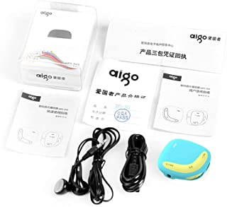 Aigo Mini MP3 Player Macaroon Dual Color Back Clip with Micro TF/SD Card Slot Sports MP3 Music Player +USB Data line