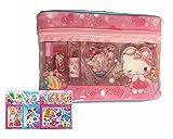 Sanrio (Sanrio) Hello Kitty - Set de maquillaje (juego de cosméticos con estuche en forma de bolsa)
