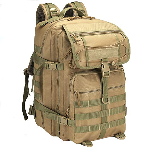 TianYaOutDoor 45L Tactical Assault Backpack with Molle...
