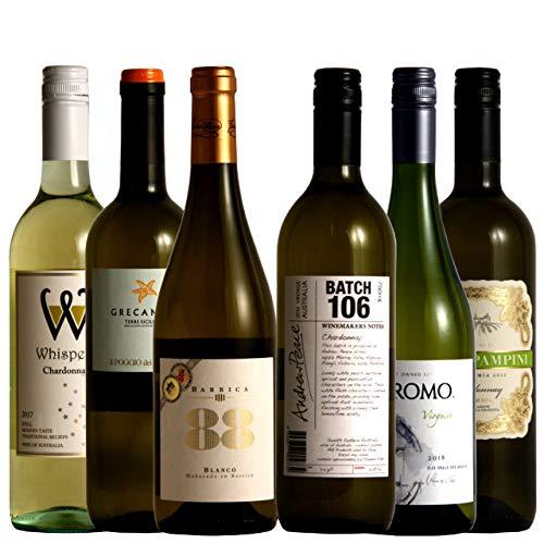 vinexio-ヴィネクシオ- 白ワインファンの為の辛口白ワイン6本セット 金賞入り ソムリエ厳選 750ml×6