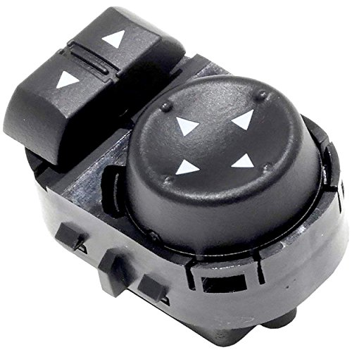 APDTY 135839 Power Mirror Adjust Switch Fits Front Left 2007-2014 Chevrolet Silverado 1500 2500 3500 or GMC Sierra (Except 2007 Classic Models; Replaces 22883768, 25778970)