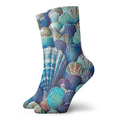 N / A Calcetines de calcetines casuales de calcetines verdes con calcetines verdes para botas de senderismo deportivas de 30 cm / 11,8 pulgadas