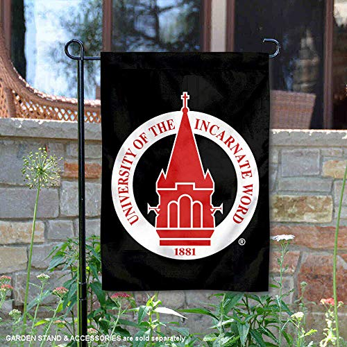 College Flags & Banners Co. Incarnate Word Cardinals Academic Logo Garden Flag