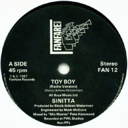 Toy Boy (+ Rap Mix) [Vinyl Single]