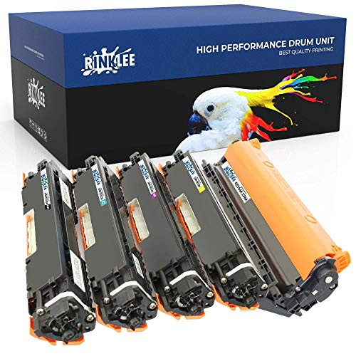 RINKLEE CE314A 126A CE310A CE311A CE312A CE313A Trommel & Toner kompatibel für HP Color Laserjet Pro M175 M175nw M175a M176n M177fw CP1025 CP1025nw TopShot M275 M275nw MFP