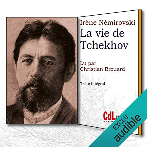 La vie de Tchekhov audiobook cover art