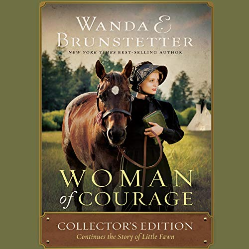 Woman of Courage audiobook cover art
