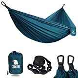 Covacure Camping Hammock - Lightweight Hammock, Portable Hammocks for Indoor, Outdoor, Hiking, Camping, Backpacking, Travel, Backyard, Beach