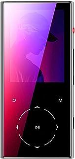 Walkercam MP-7 8GB Bluetooth 4.1 Reproductor de MP3 con Botón Táctil, Grabadora de Voz con un Solo Botón, Radio FM, 30 Horas de Reproducción, Estuche de Metal Negro