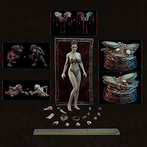 ZSMD Figuras de accin femeninas sin costuras, 12 pulgadas, escala 1/6, superflexibles, para arte, dibujar, fotografa