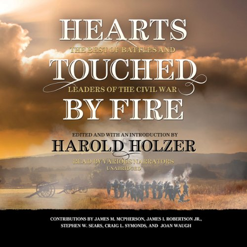 Hearts Touched by Fire audiobook cover art