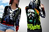polyst ROB Zombie Women Fashion (Zipper, X-Large)