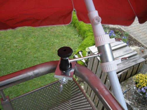 Abat-jour de baguettes 25,5 jusqu'à 42 mm de diamètre - 1 pièce-inox-support jusqu'à 40 mm de diamètre pour l'extérieur ou à l'intérieur 11 cm de hauteur fixation de parapluie-holly breveté pour fixer ou carrés rond 40 mm avec éléments de fixation en acier inoxydable pivotant à 360° avec kratzfreien gUMMISCHUTZKAPPEN de fixation-support orientable à 360° avec distance bâtons 25,5 prises pour parasol jusqu'à 42 mm de diamètre avec douille profonde 13 cm d 11 cm long bec pivotant-innovations distance filetage axe lot de 2–en allemagne-holly ® produits sTABIELO-holly-sunshade ® sCHIRMEN à sur-ø 2,5 cm de 2 supports de fixation ou 2–te utiliser pour des raisons de sécurité (kabelbinder)