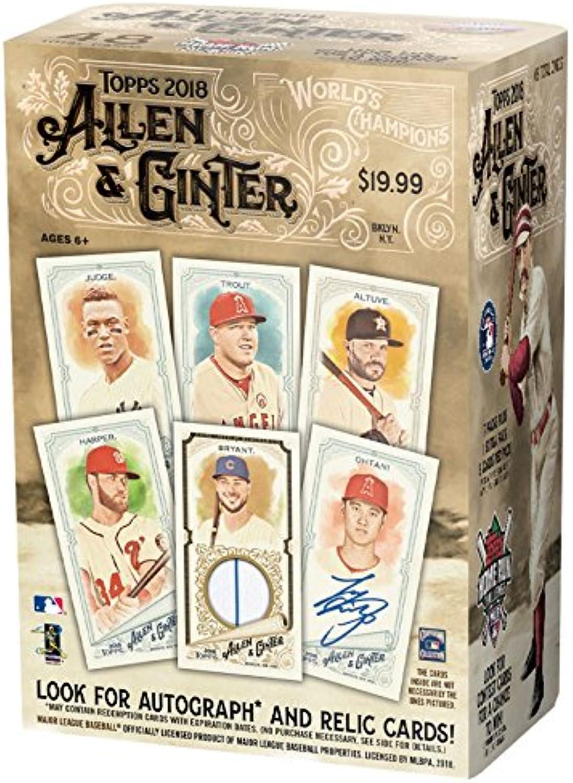 Topps 2018 Allen & Ginter Baseball Mass Value Box