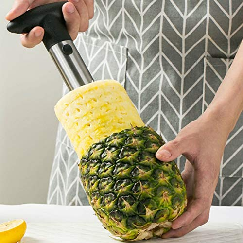 Stainless Steel Pineapple Meat Remover Tool Home Ananas Peeler Divider Creative Fruit Cutter WY