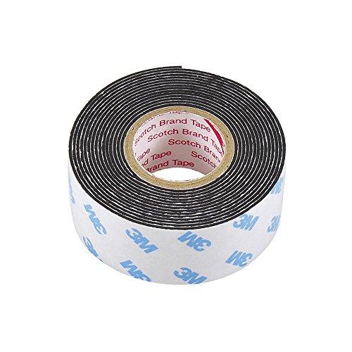 エーモン 強力両面テープ(ベータテープ) 車内・車外兼用 黒 幅25mm×長さ2m×厚さ1mm 3926