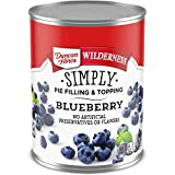 Duncan Hines Wilderness Simply Pie Filling, Blueberry, 21 Ounce (Pack of 8)