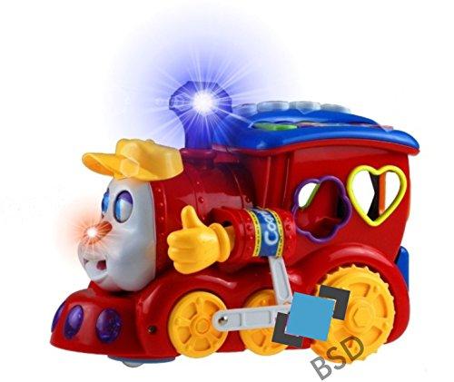 BSD Trieuse Locomotive - manèges, lumière et Jeu - tri Jeu - Le tri des Jouets - Dextérité Toy - Sortierzug Locomotive avec Son et lumière