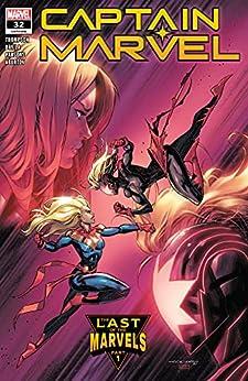 Captain Marvel (2019-) #32 by [Kelly Thompson, Iban Coello, Sergio Fernandez Davila]