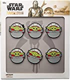 Star Wars: The Mandalorian Season 2 The Child in The Carriage Six Pin Set (Amazon Exclusive)