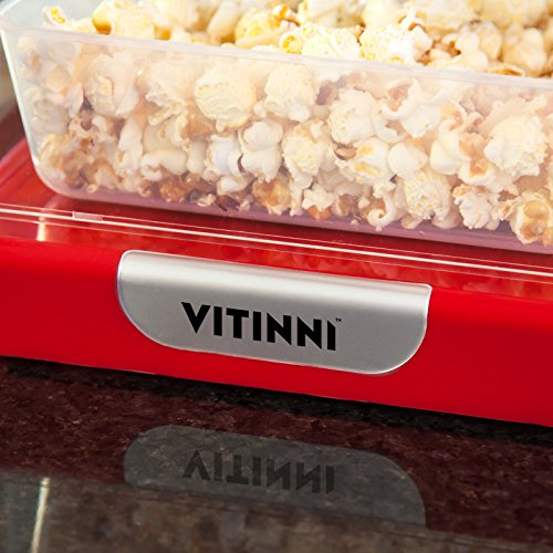 Vitinni Retro Popcorn Maker with 6 Serving Boxes