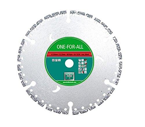 Heller 26712 EcoCut Universal Diamanttrennscheibe, Durchmesser: 115 mm, 1 V
