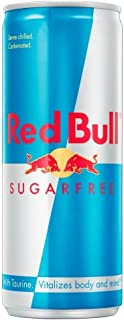 Red Bull Energy Drink Sugar Free 250 ml - Packung mit 6