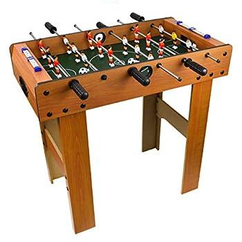 Foosball Table for Kids - Full Size Arcade Table Games for Children Game Room Toys Mini Soccer Table - Mesa de Juego de Futbolito para Niños