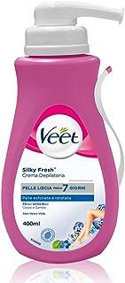 Veet Silk & Fresh Technology Crema Depilatoria Pelli