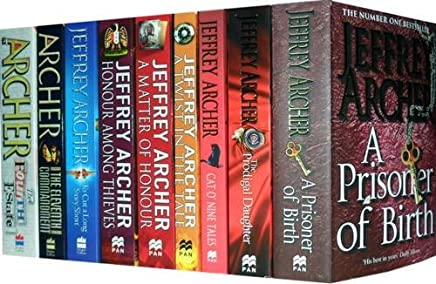 Jeffrey Archer Collection: A Prisoner of Birth, Prodigal Daughter, Cat O' Nine Tales, Twist in the Tale, Matter of Honour, Honour Among Thieves, to Cut a Long Story Short, the Eleventh Commandment, the Fourth Estate