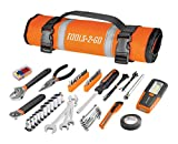 Tools-2-Go Tool 83 Piece Set with Roll-Up Pouch Motorcycle, Auto, ATV - 240119