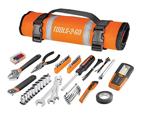 Tools-2-Go Tool 83 Pc Set with Roll-Up Pouch Motorcycle, Auto, ATV - 240119